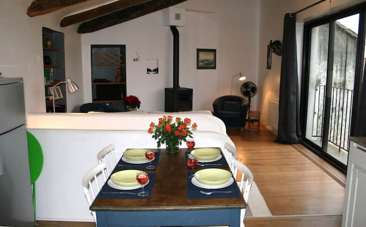 Quiet Village house in Laroque des Alberes