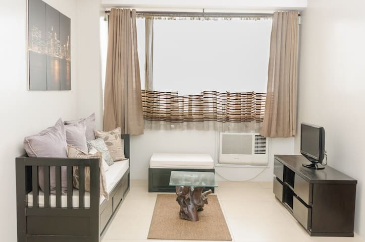 Cozy 1BR Condo in Ace Water Spa - Pasig - Apartament