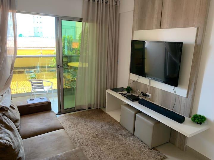 Premium flat Ponta Negra 2 Quartos apto 301