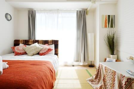 难波心斋桥舒适公寓,shinimamiya comfortabal apartment55 - Naniwa Ward, Osaka - 公寓