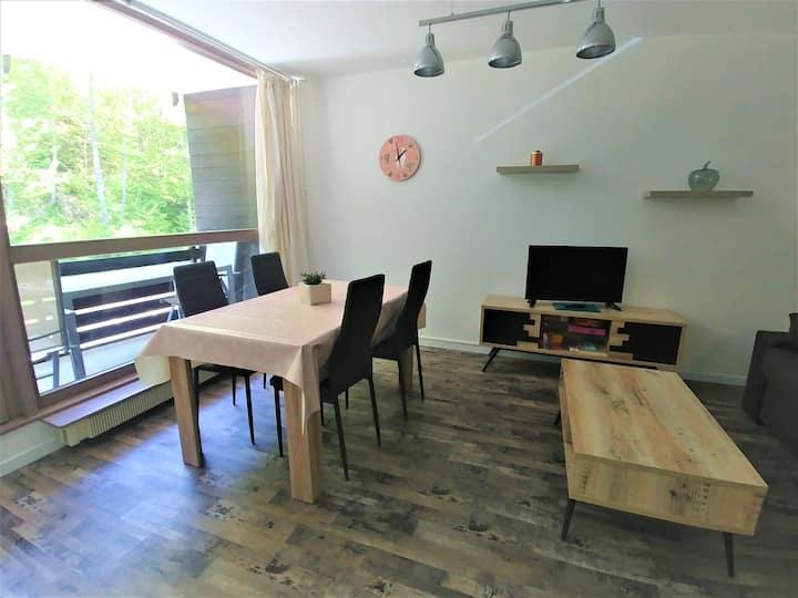 Mont-Dore bel Appartement avec balcon 2 Etoiles
