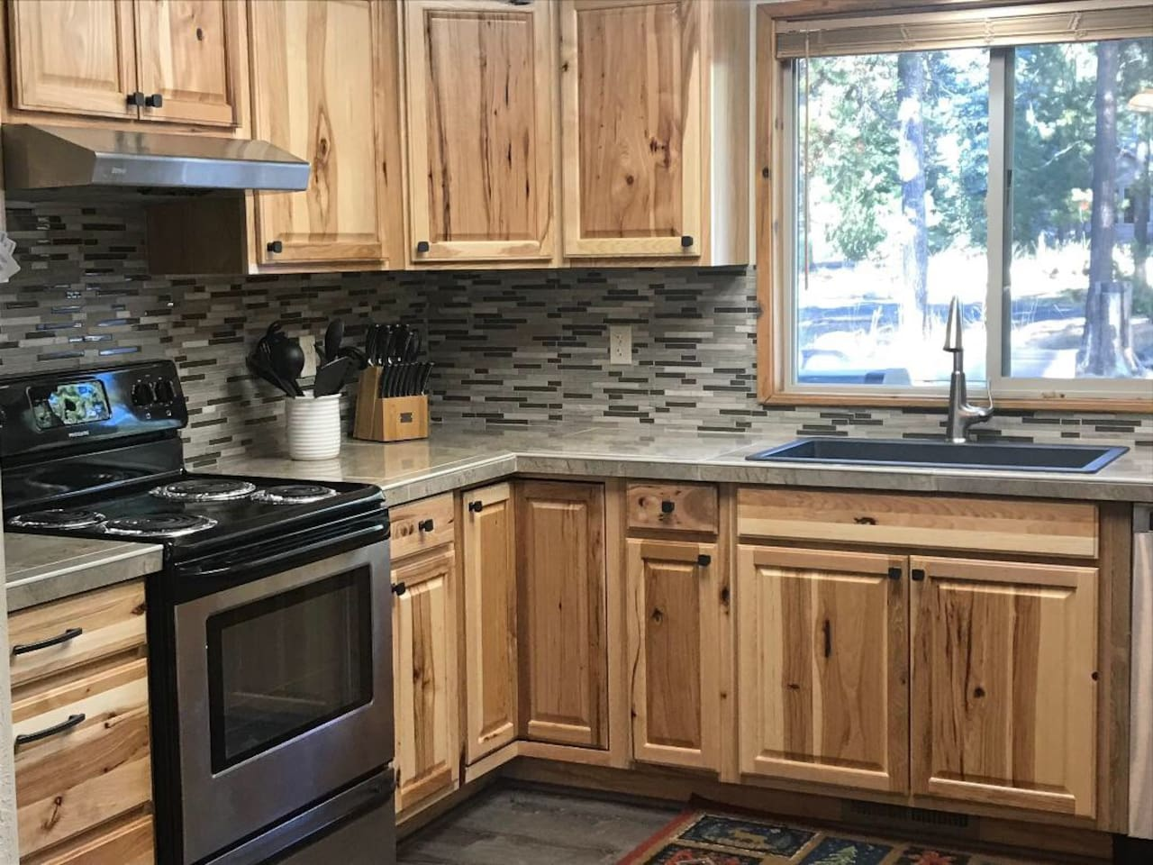 our newly remodeled kitchen