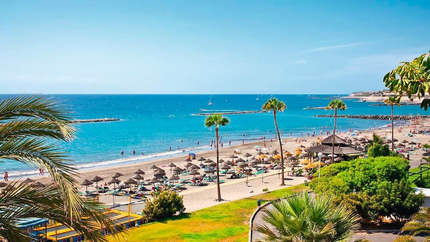 Precioso apartamento a 5min de la playa - Costa Adeje - Wohnung