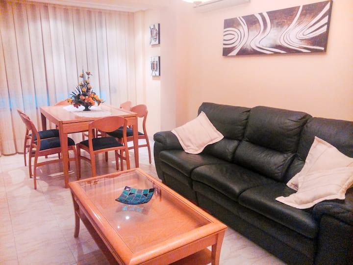 Cozy apartment in Castellón center