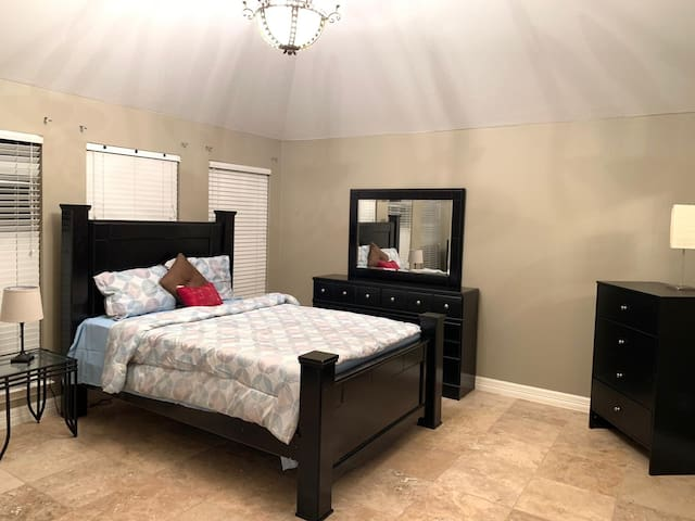 Master bed fully furnished