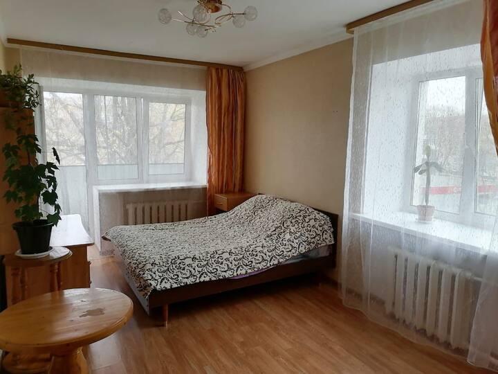 Уютная однокомнатная квартира в 10 мин от Лавры.