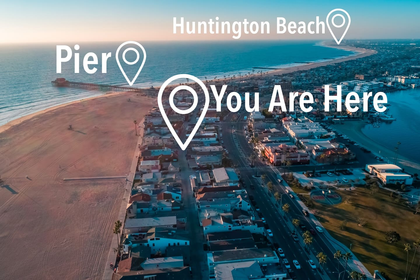 Location Location Location.  Just a few steps to the beach and boardwalk.  2 minutes to the pier on a bike or walk in 5.