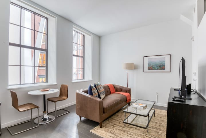 Modern Studio in Boston Near Metro + Pet-Friendly