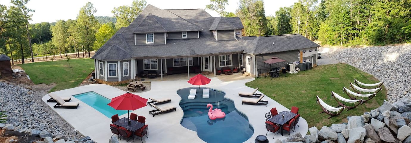 Luxury 10 Acre Estate with 2 Private Heated Pools
