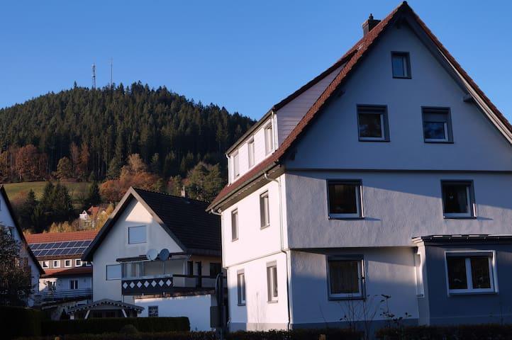 Gemütliche Wohnung im Herzen von Baiersbronn