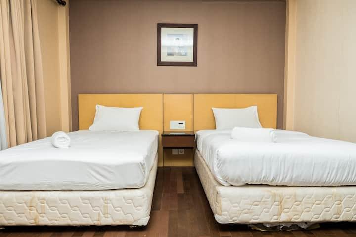 Spacious Studio Room at Grand Setiabudi Apartment