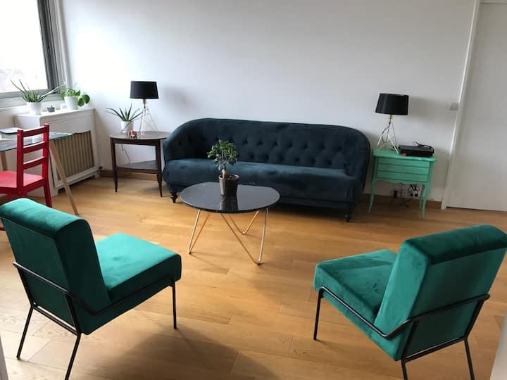 Chambre SUPER plan salon Porte de Versailles!