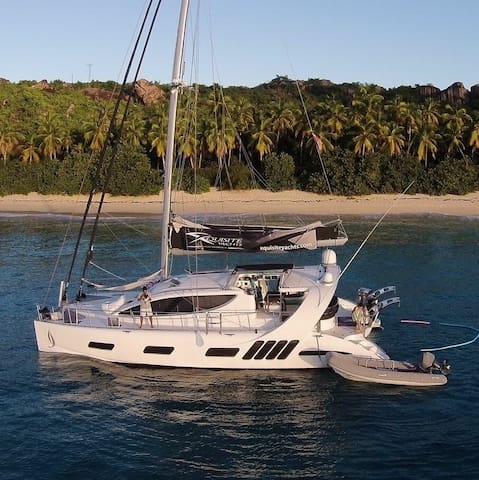 Pearl - 50' award winning crewed sailing catamaran