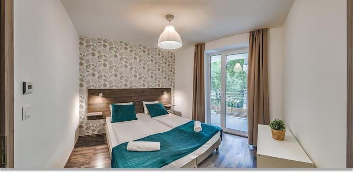Nova City Apartment 1 bedroom plus living room