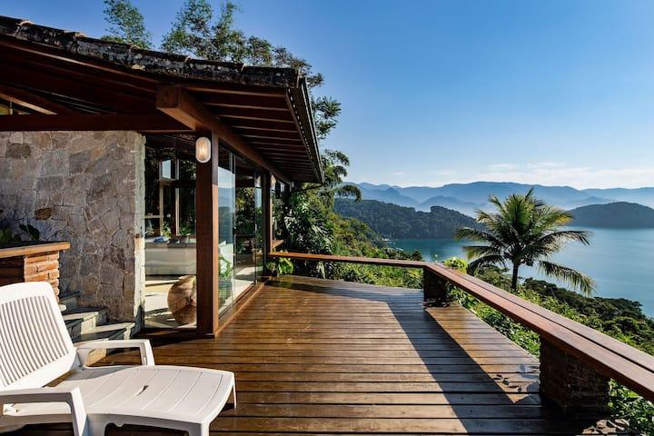 Ang034 - Superbe villa de 3 chambres à Angra dos Reis