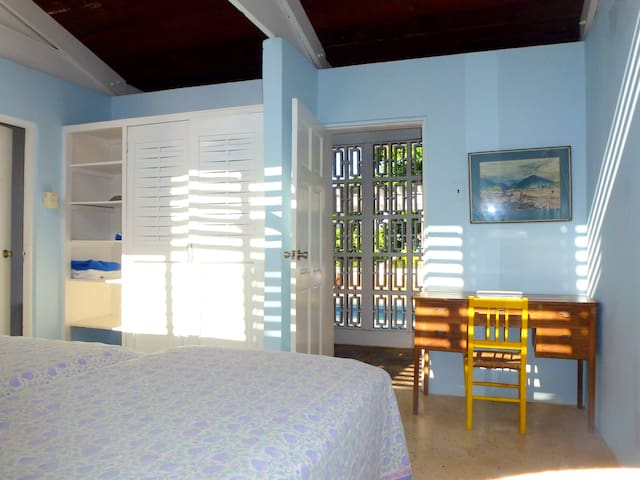 All rooms are bright light and airy
