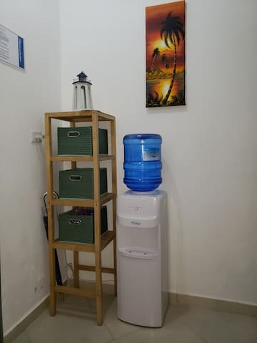 Cold and room temperature water dispenser