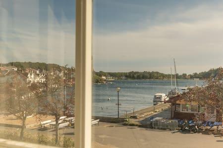 Amazing view, Grimstad center