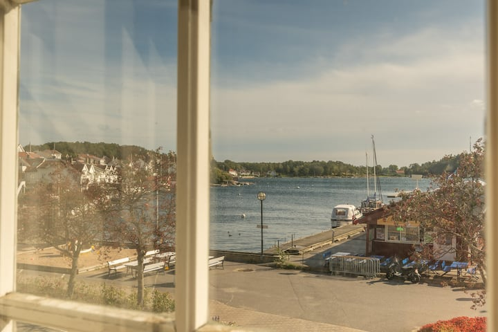 Amazing view, Grimstad center