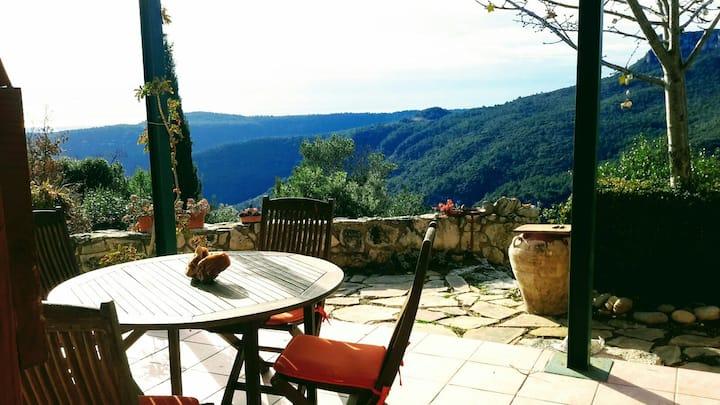 Casa en las Montañas con vistas espectaculares