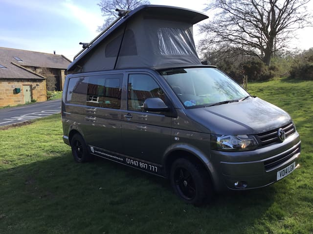 Campervan Hire VW T5 Transporters North Yorkshire