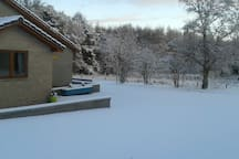 Lovely Winter views at Dunvrichtin