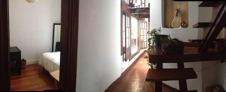 Una habitación en el corazón de San Telmo