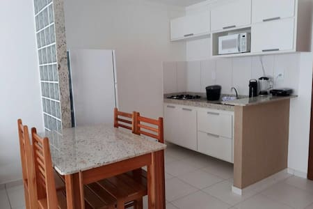 Apartamento aconchegante, condomínio Rede Tonziro
