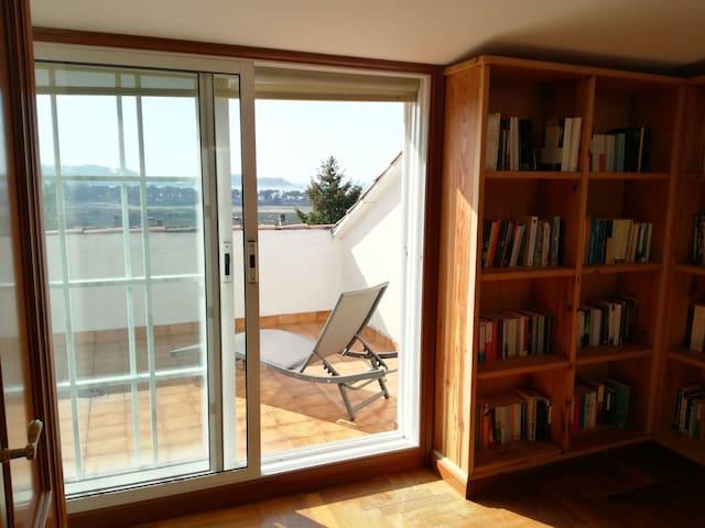 Baiona. Habitación con terraza - Baiona