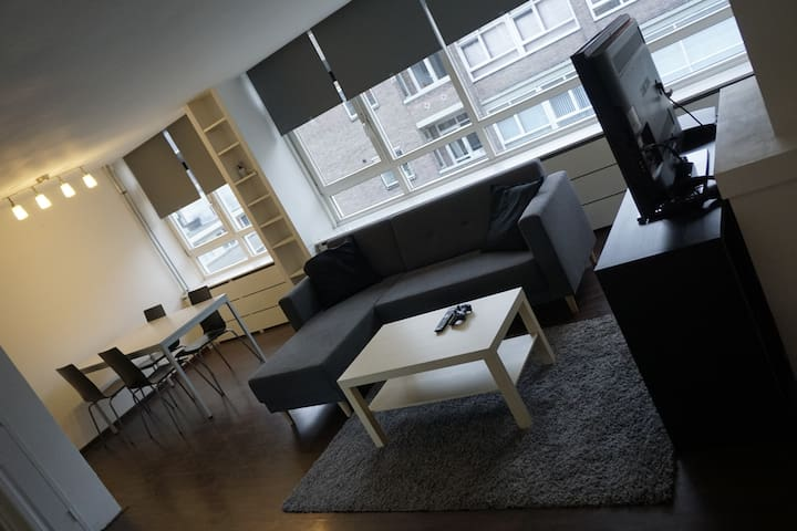 Cosy Spacious Modern apartment in Rotterdam Centre - Rotterdam - Flat