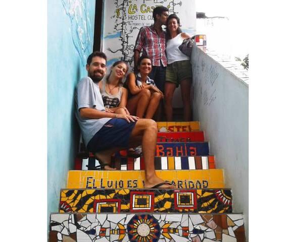 La Casita Guesthouse Morro de Sao Paulo, Brasil