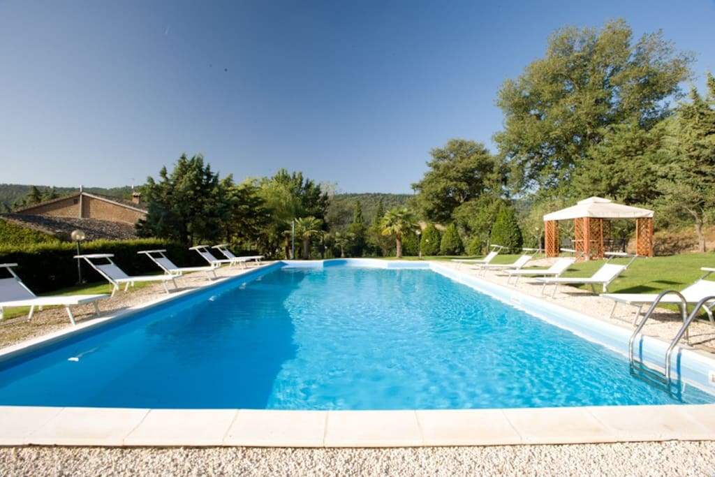 Deliciously restored villa with ultra private pool & gorgeous views.