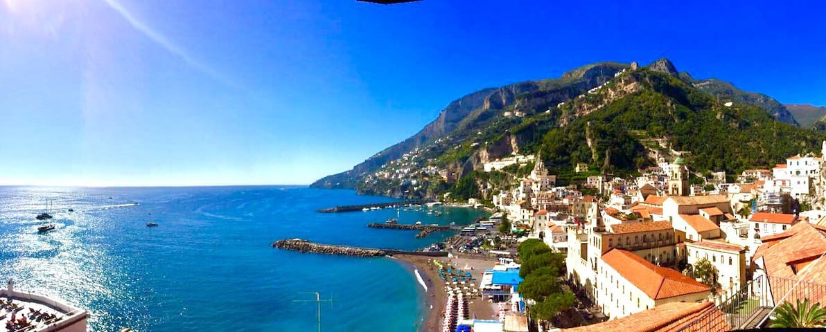 Stunning View in Amalfi Central - Amalfi - Haus