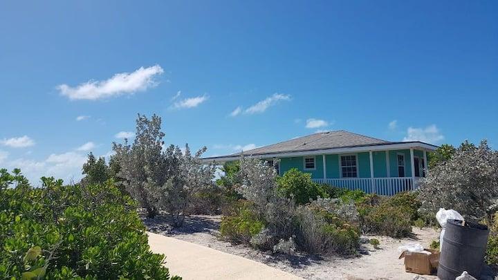 Oceanfront villa in the Exumas