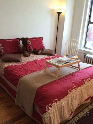 Your clean & cozy BR, 20min direct NJTtrain to NYC - East Orange - Apartment