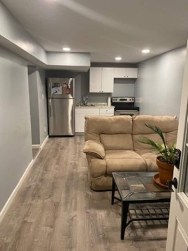Cozy basement apartment with private entrance