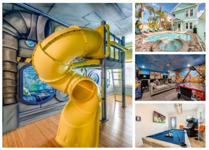 New Luxury Family Fun Home in Reunion Resort