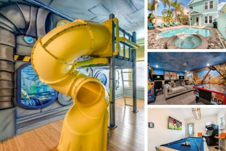 New Luxury Family Fun Home in Reunion Resort