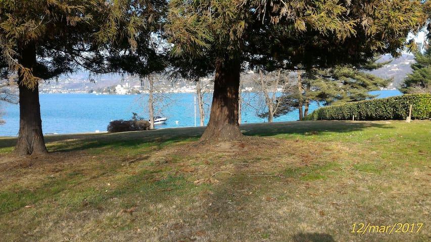 Alloggio immerso nel verde, a due passi dal Lago - San Maurizio D'opaglio - Appartement