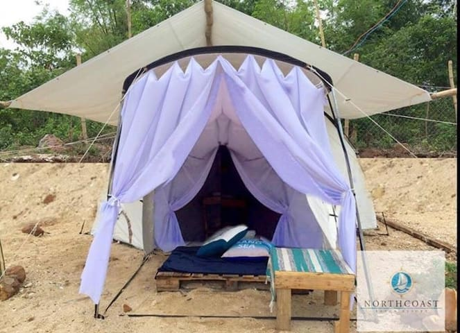 Glamp 2 @ North Coast Island Resort (4 pax max)