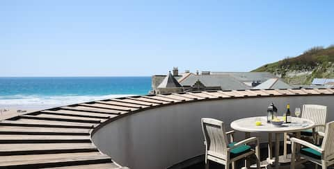 Seaview Penthouse Apartment Watergate Bay
