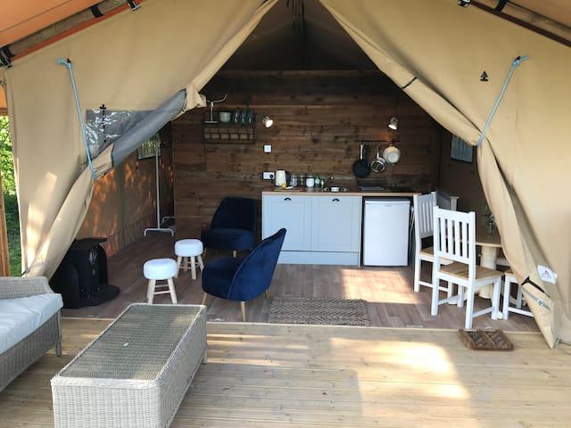 West End Farm Campsite - Unique Safari Tent