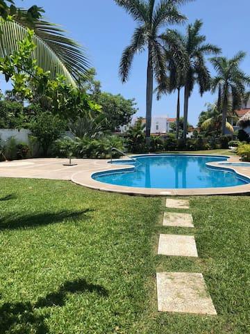 Habitación privada en Ixtapa- Cama Matrimonial