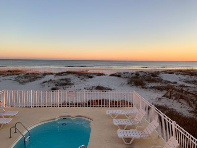 Gulf front 4 bedroom/3 bath with pool!