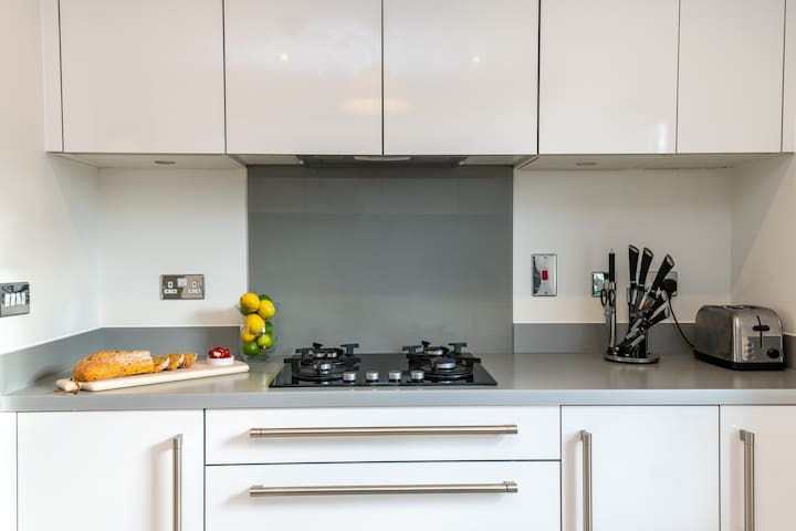 Modern Kitchen with Integral Fitted Units