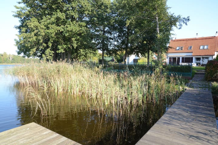 Luxury house apartments on Mazury for rent.