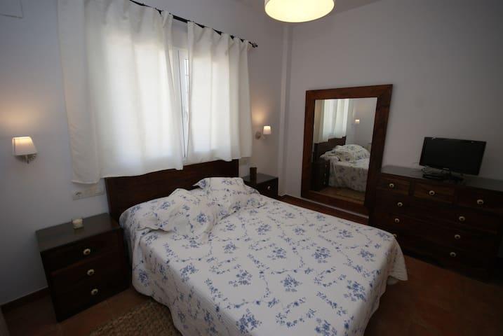 Habitación doble con vistas - Finca El Romeral - Alpera - บ้าน