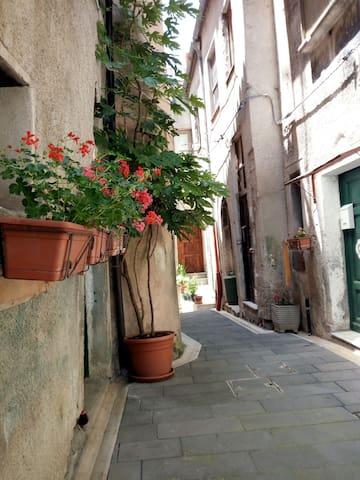 Casa nel centro storico di un carino borgo campano