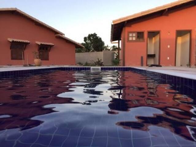 Casa Villa com maravilhosa piscina 3 quartos - Arraial d'Ajuda - Casa