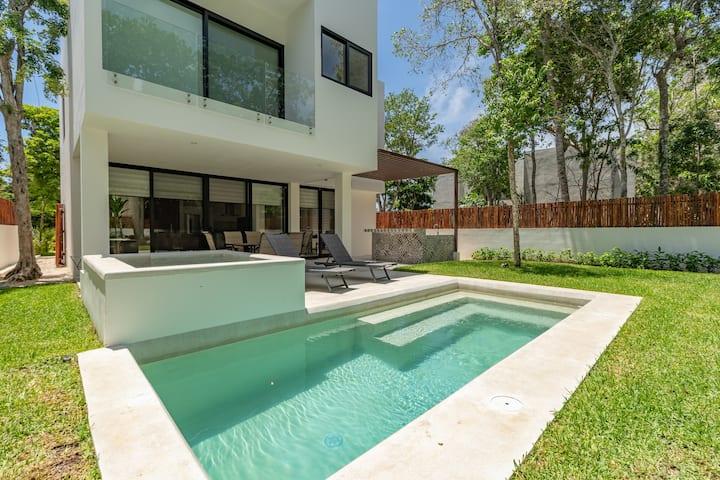 Luxury 3 Bed Room Home Riviera Maya Bahia Principe